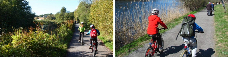 Skullerud til Bryn senter sykkel i Oslo