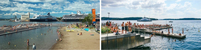 Sørenga sjøbad badesteder og strender i Oslo