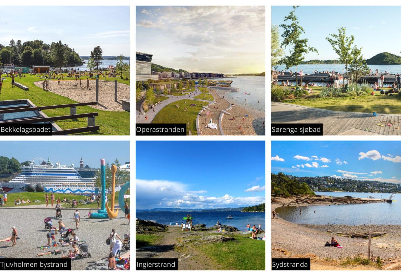 Strender og badeplasser i Oslo