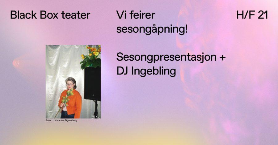 Sesongåpning: Presentasjon av høstprogram & DJ-sett med DJ Ingebling hovedbilde