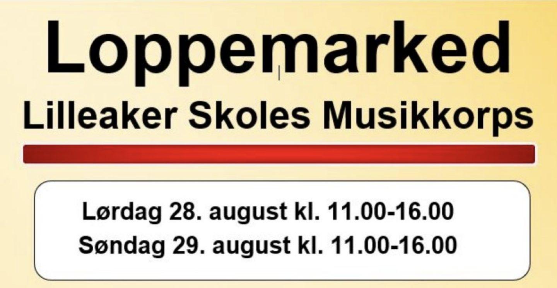 Lilleaker Skole har Loppemarked i Oslo 28. og 29. august 2021, fra 11.00 - 16.00 begge dager
