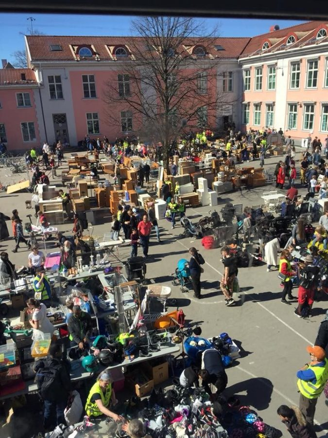 Eventbilde: Loppemarked på Ullevål Skole 23. og 24. oktober 2021