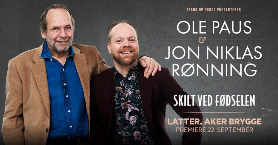 Eventbilde: «Skilt ved fødselen» av Ole Paus og Jon Niklas Rønning
