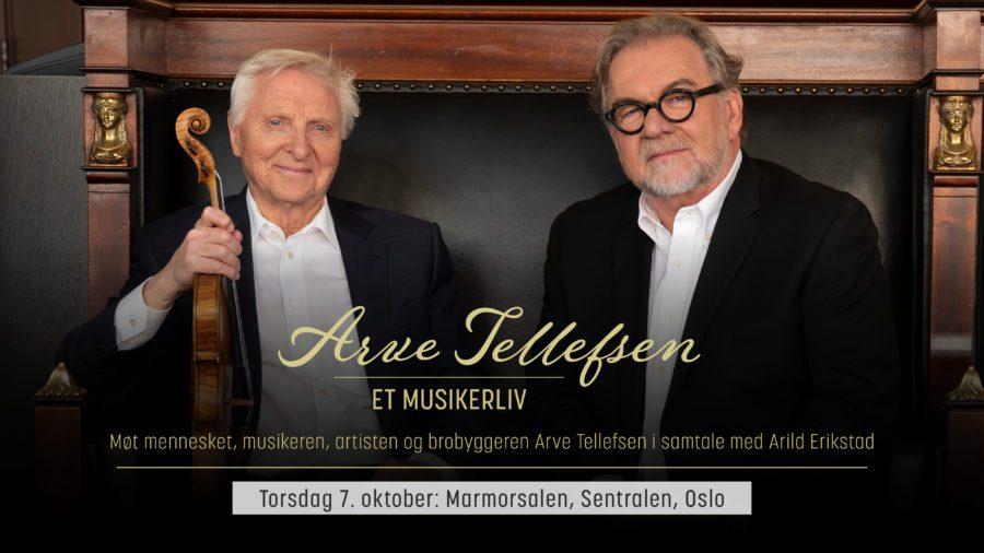 Arve Tellefsen – Et musikerliv hovedbilde