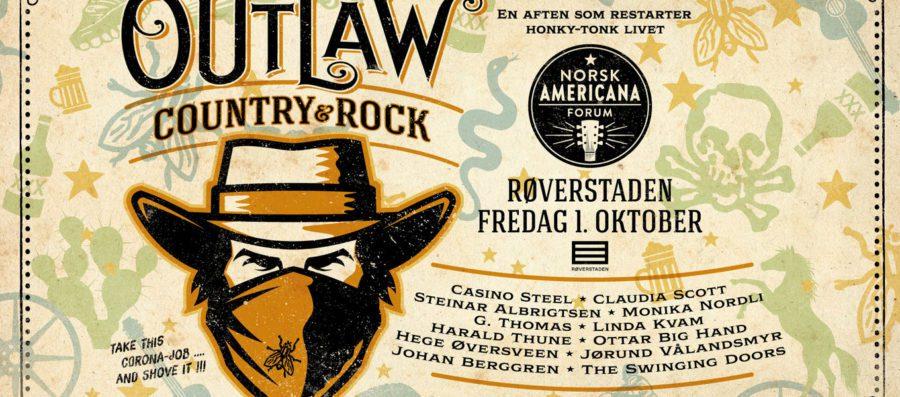 Eventbilde: Outlaw Country – Røverstaden