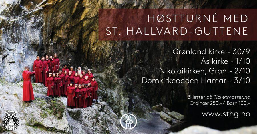 Eventbilde: Høstkonsert med St. Hallvard-guttene