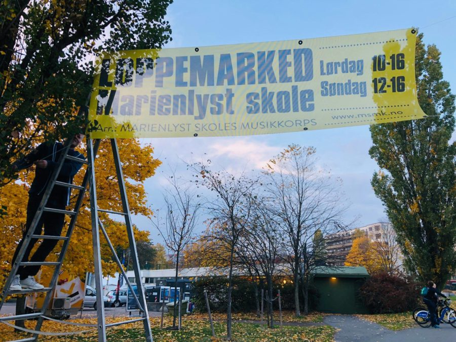 Eventbilde: Loppemarked på Marienlyst skole 25. september