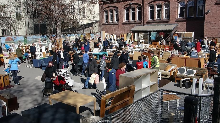 Loppemarked i Oslo 2021 på lilleborg skole