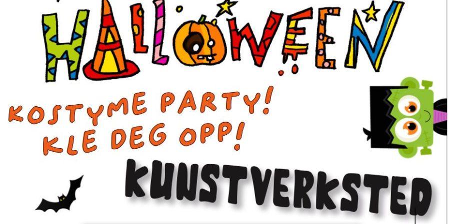 Eventbilde: Halloween-verksted på Barnekunstmuseet