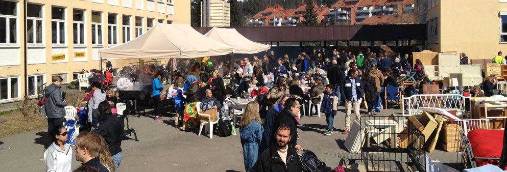loppemarked i oslo 2021 på voksen skole