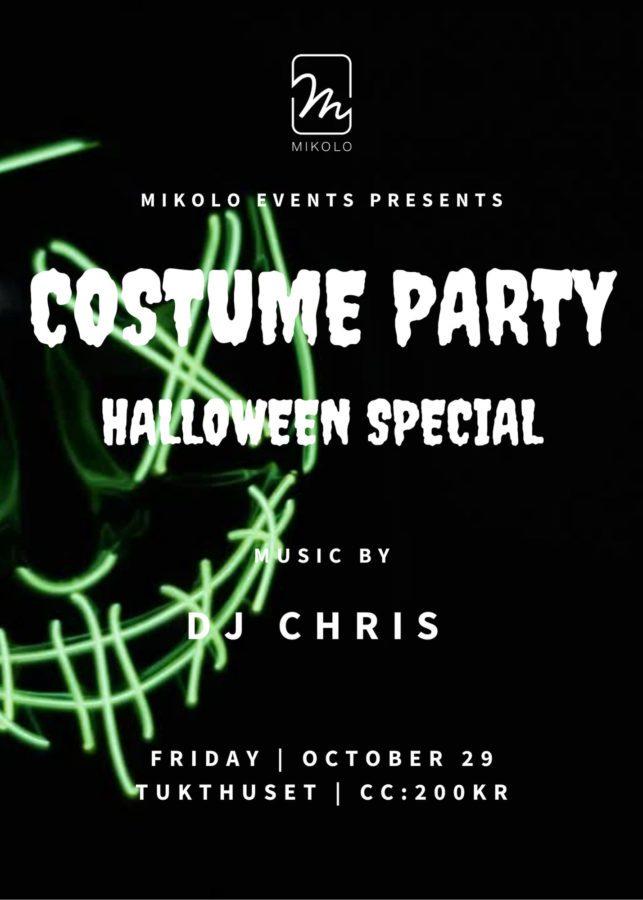 Eventbilde: Halloween & kostymeparty på Tukthuset