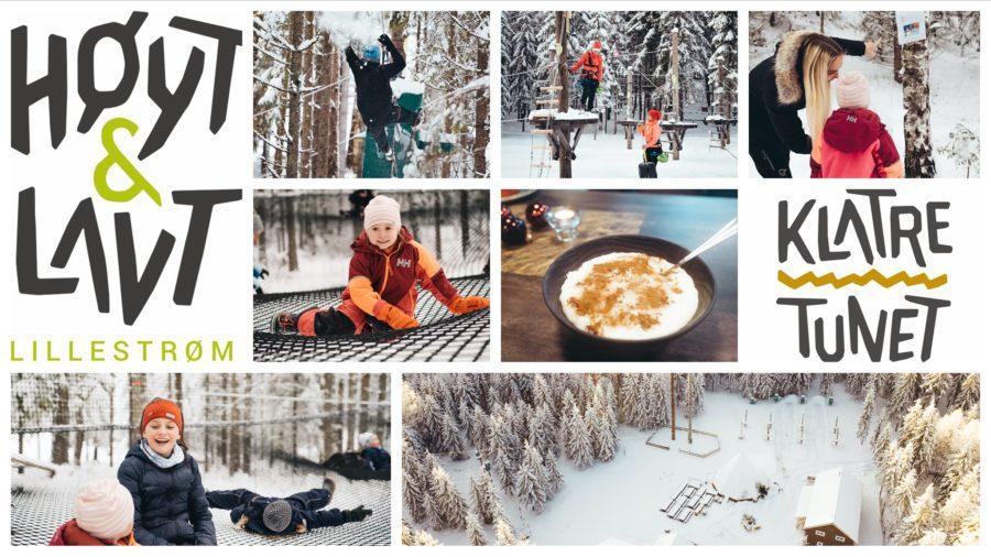 Eventbilde: Nisseklatring i parken til Høy og Lavt i Lillestrøm