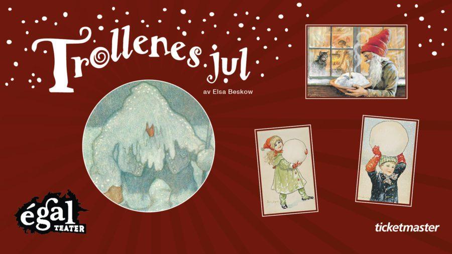 Trollenes jul av Elsa Beskow hovedbilde